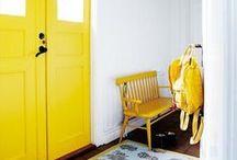 yellow and white / by Meri Cherry
