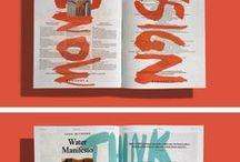 L A Y O U T / #magazine and book design