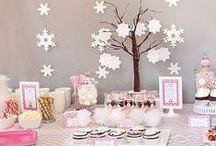 Winter Baby Shower Ideas - Seasonal Showers / Winter Baby Shower invitations, ideas and inspiration for boys, girls and neutral baby showers being thrown during the wintertime months of December, January and February brought to you by www.seasonalshowers.com.