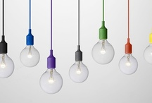 LIGHTING / The sky is the limit, from suspension lighting, dangling chandeliers, pendant lights, moulding..