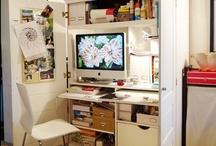 My Desk Space / by Brooke B