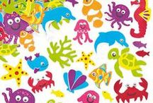 Sealife / No need to head to the beach for these super sealife craft ideas!