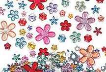 Embellishments / These are all the pretty little things that will add extra pizazz and interest to your crafts