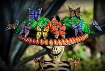 MEXICAN CATRINAS AND FIGURINES / by Marlene Goldsmith