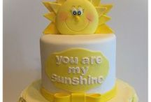 You Are My Sunshine Baby Shower / Cute ideas for a You Are My Sunshine theme baby shower.  Visit us at www.seasonalshowers.com