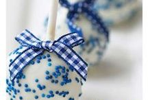 Blue Winter Baby Shower / I'm collecting the best blue winter baby shower ideas here that include decorating ideas, amazing invitations, foods and desserts to serve and everything else I can find for a blue wintertime baby shower.  Since blue is mostly associated with having a baby boy, that's mostly what you'll find here but some of the stuff would work well for either gender.  www.seasonalshowers.com