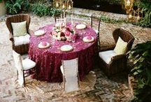 Marsala | Wine Colored | Bridal Shower and Wedding Ideas / Marsala is THE color of the year for 2015.  If you're planning a bridal shower or wedding using this rich chic and trendy color as the theme or bridal party color, I'm collecting the best pins on Pinterest with Marsala (wine colored) Bridal Shower and Wedding Ideas.