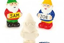 Give a Gnome a home / Gnome-themed crafts for kids this summer. Great for summer crafting!