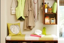Organize / Ways to stash your stuff & keep your life easy.