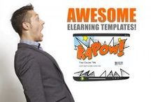 eLearning Templates / Awesome eLearning Templates for eLearning Developers. / by eLearning Brothers