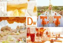 Orange Wedding / Orange Wedding Ideas