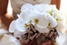 Bridal Bouquet Orchid / Orchid Wedding Flowers