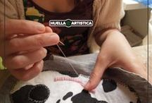 Muñecas Huella Artistica / Muñecas hecho a mano, Artesana FEDAC.