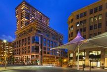 Construction Progress / We are a new luxury apartment community in Downtown Denver opening October 2014.