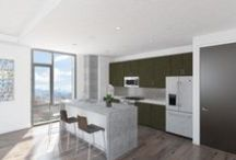 Interior Design @ 16M / 16M Residences - A great deal of attention has been paid to every design aspect of the building.