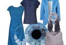 Světlé léto - Light summer - Tinted summer - Tranquil / Vhodné kombinace oděvů a doplňků pro světlé léto, případně pro příbuzné barevné typy (chladné a tlumené léto, světlé jaro).