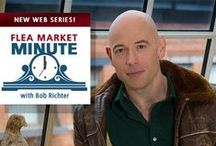 FLEA MARKET MINUTE, Season One / The original series, hosted by Bob Richter, that showcases flea markets around the globe. https://www.youtube.com/playlist?list=PL0WkIL1_YgLurB36mB7HVUt_28uvXBxcs