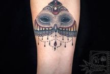 Owl tattoos/ uil tattoos / Uil tattoo owl tattoos old school / by Owls Uiltje