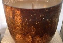 All That Shimmers / Decorating with candles, fragrance warmers, votives, and more...