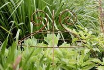 Plant Supports / Elegant & practical wirework for the garden. Photo gallery of the Plant Belle plant supports with inspiration for new ideas