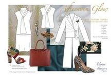 Curvy Capsule Wardrobes by The Elegant Executive Curve / Sets of mix & match to make dressing for work easier
