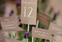 Inspiration | Table Numbers