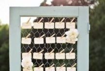 Inspiration | Table Plans & Escort Cards