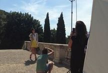 Backstage / Negri Firenze with fashion bloggers, journalists, makeup artists and photographers.
