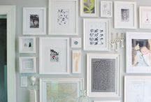 Accumulation de cadres / gallery wall
