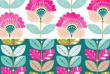 Pattern Design para soñar / Adoramos los patrones de diseño e ilustración, inspiran, te hacen soñar y te enamoran.