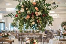 Peach and Coral Wedding  Decor