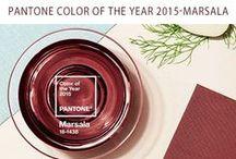 Pantone Marsala / by Brown Sugar Custom Cakes