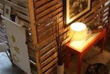 Pallets and Mason Jars.....So many ideas...