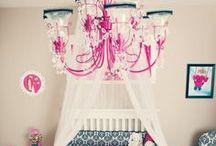 Baby girl nursery ideas / by Johanna Frausto