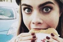 Celebrities eating & drinking