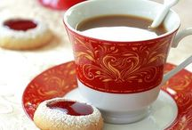 Tea and Coffee, Crumpets and Noshes  / all things tea and coffee, the delicious little items that go with tea and a nice cup of coffee. recipes and presentation of those items are the focus of this board