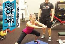 Winter Game Workouts / Get in the Sochi spirit with these winter game-worthy moves from our personal training team!  / by Sport&Health