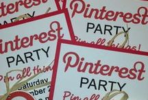 •♥•PINTEREST PARTIES•♥• / YES! We do Pinterest Parties and they are FUN!