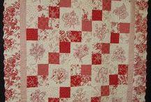 Redwork Quilts&Co / Ideen zur Konstruktion und Verabeitung