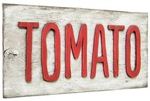 Tomato - All Things Tomatoes / When I think tomato, I always thing Heirloom or Organic  With the Threat of GMO's everywhere please pay attention to the labels or best is to grow them yourself from certified heirloom organic seeds