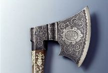 """CUTLERY / Knives  and swords Blades and handles: """"SONG OF THE BROAD AXE"""" Walt Whitman  / by Laurent Moreira"""