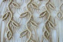 maglia e macramè