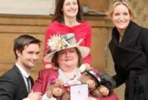 Mandy Paine / Dying Matters and NCPC campaigner Mandy Paine received an MBE in June 2012 in recognition of her work with us. Mandy, who has chronic obstructive pulmonary disease and needs to use oxygen 24 hours a day, has a long involvement with us. She is a member of NCPC's People in Partnership Steering group and Chronic Respiratory Diseases Group, and played a key role in the development of our Difficult Conversations booklet on COPD. She has spoken widely at NCPC and Dying Matters events.