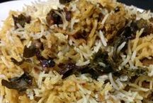 Rice and Biryani Recipes / Indian Rice Recipes and Biryani Recipes