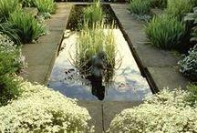 Zahrada / Květiny, zahradní dekorace a nápady na výsadbu.