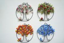 Wire - wreath, suncatchers etc.