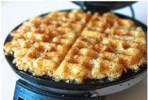 waffle iron recipes / Waffle Iron/Waffle Maker Recipes! Borrow a Waffle Maker @ thekitchenlibrary.ca