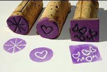 DIY Stamp - Dyeing - Printing
