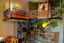 fabulous kids rooms~~ / ~~LoVe the fab ideas in here!!~~