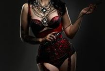 Saloon girls/Burlesque/Gothic/Steampunk Costumes. / by Rose Goodare